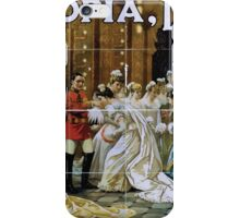 Performing Arts Posters DOyly Cartes Opera Co in Utopia limited Gilbert Sullivans new opera 2056 iPhone Case/Skin