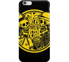 SKULL STEADY iPhone Case/Skin