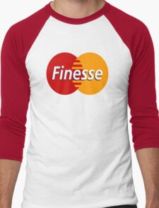 MasterCard Finesse Men's Baseball ¾ T-Shirt