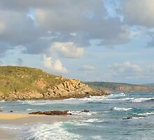 The Beach at Moses Rock by metriognome