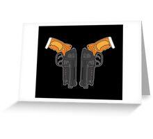 PK5 Blasters Greeting Card