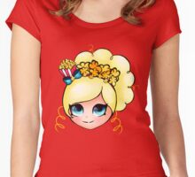 Shopkins Shoppie Popette Women's Fitted Scoop T-Shirt