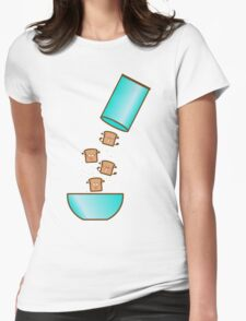 breakfast! Womens Fitted T-Shirt
