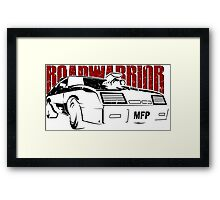 MFP Road Warrior Mel gibson car  Framed Print