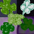 Quintet of Clovers by KazM