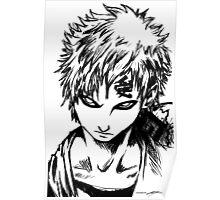 Gaara from the Hidden Sand Village  Poster
