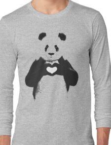 love panda Long Sleeve T-Shirt
