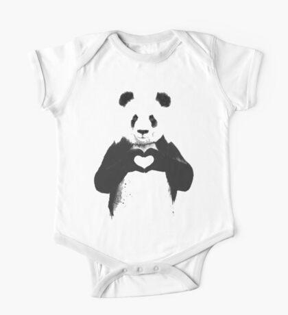 love panda One Piece - Short Sleeve