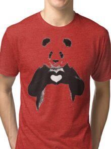 love panda Tri-blend T-Shirt