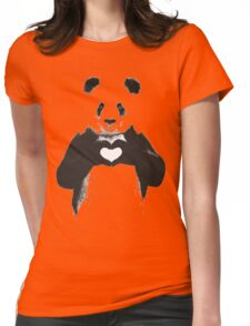 love panda Womens Fitted T-Shirt
