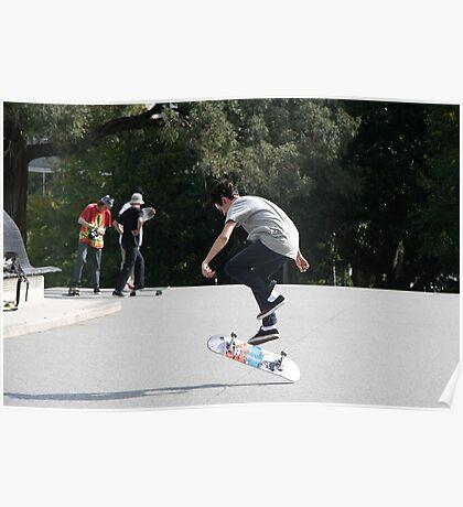 Skate boarders Poster