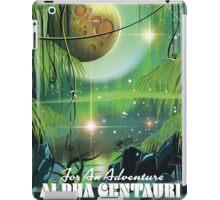 Alpha Centauri retro swamp sci-fi poster iPad Case/Skin