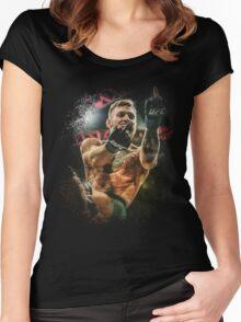 Conor McGregor - Fingers Women's Fitted Scoop T-Shirt