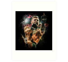 Conor McGregor - Fingers Art Print
