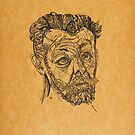 Kokoschka, Oskar. Twenty drawings. With 20 panels by India ink drawings by Kokoschka. Berlin, Der Sturm, 1913 by Adam Asar