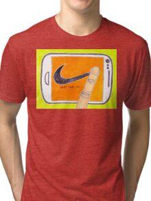 Just Post It Tri-blend T-Shirt