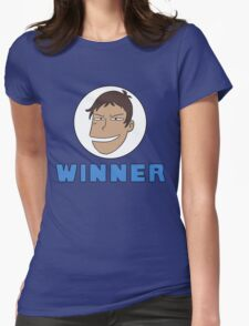 Lance Winner lol Womens Fitted T-Shirt
