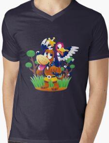 ~ Banjo-Kazooie & Duck Hunt ~ Mens V-Neck T-Shirt