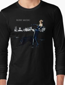 Roxy Music Shirt Long Sleeve T-Shirt