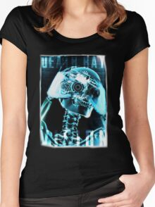 Death Ray. Women's Fitted Scoop T-Shirt