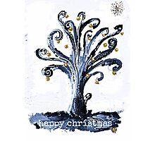 Christmas tree of life Photographic Print