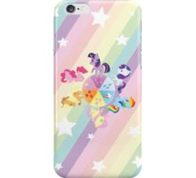 Rainbow Mane Six iPhone Case/Skin