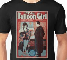 Performing Arts Posters The ballooon girl a comedy drama of circus life by Robert J Sherman not a moving picture 0580 Unisex T-Shirt