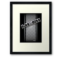Hemi Diagonal Framed Print