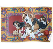 Beagles Poster