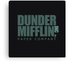 Dunder Mifflin Paper Company  Canvas Print