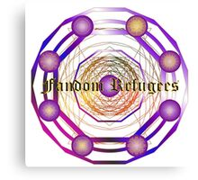 Fandom Refugees Canvas Print