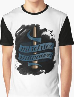 Mischief Managed - Ravenclaw Style Graphic T-Shirt