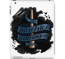 Mischief Managed - Ravenclaw Style iPad Case/Skin
