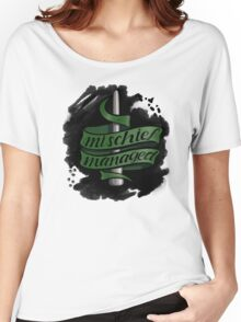 Mischief Managed - Slytherin Style Women's Relaxed Fit T-Shirt