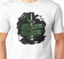 Mischief Managed - Slytherin Style Unisex T-Shirt