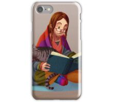 The reader V2 iPhone Case/Skin
