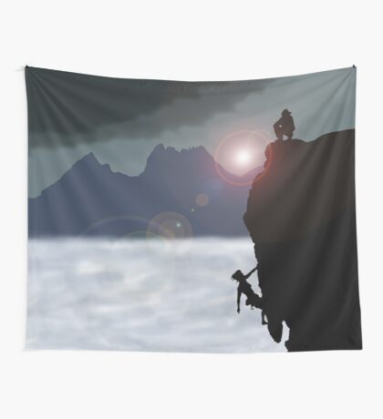 light my way Wall Tapestry