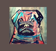 Abstract painted pug items  Unisex T-Shirt