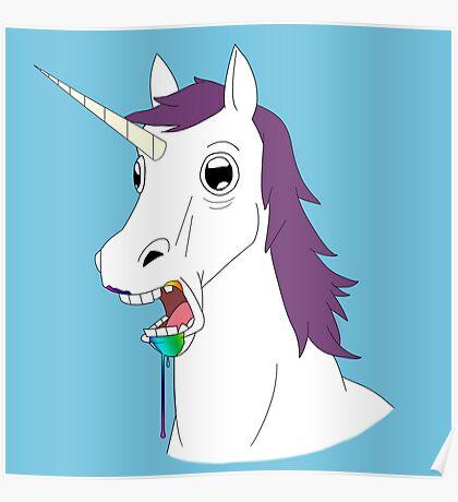 Dumb Unicorn  Poster