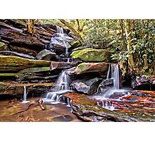 Somersby Lower Falls - Brisbane Water National Park Photographic Print
