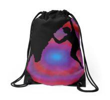 dawn climber Drawstring Bag