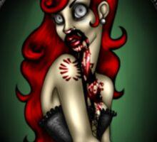 Zombie Courtesan Sticker