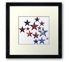 Star Galxy Framed Print