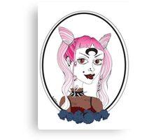 Dark Lady Canvas Print