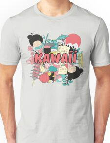 Kawaii Japanese Style Cuteness Design  Unisex T-Shirt