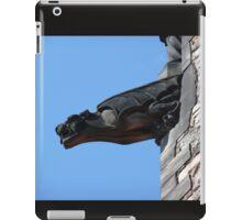 Castle gargoyle iPad Case/Skin
