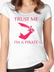 Im A Pirate Women's Fitted Scoop T-Shirt