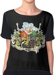 Hogwarts crest Chiffon Top