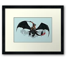 Dragon Rider Framed Print