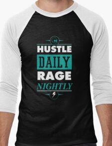 Hustle Daily Men's Baseball ¾ T-Shirt